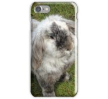 Such a fluffy bunny iPhone Case/Skin