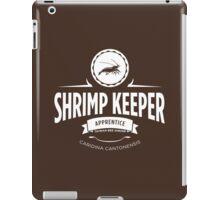 Shrimp Keeper - Apprentice iPad Case/Skin