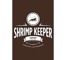 Shrimp Keeper - Expert Photographic Print