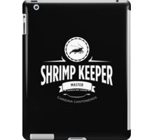 Shrimp Keeper - Master iPad Case/Skin