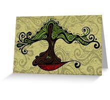 Bonsai in Colour - Card Greeting Card
