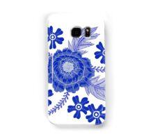 Blue Peony Samsung Galaxy Case/Skin
