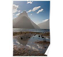 Reflections - Mitre Peak Poster