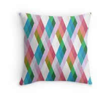 Pastel Diamonds 004/4 Throw Pillow