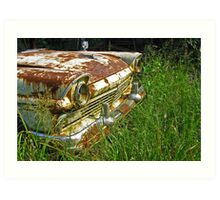 Rusty Ranchero Art Print