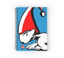 English Bull Terrier Gnome Spiral Notebook