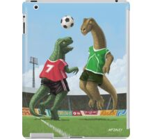 dinosaur football sport game iPad Case/Skin