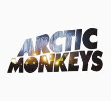 Arctic Monkeys - Concert Logo by Qwertab