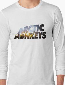 Arctic Monkeys - Concert Logo Long Sleeve T-Shirt