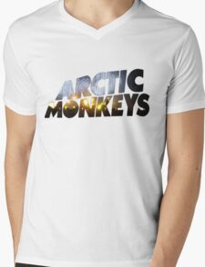 Arctic Monkeys - Concert Logo Mens V-Neck T-Shirt