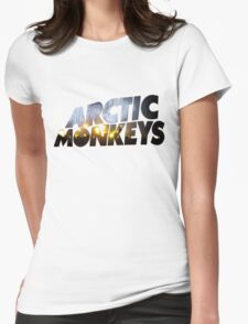 Arctic Monkeys - Concert Logo Womens Fitted T-Shirt