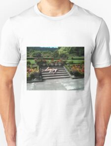 Girl laying on stairs T-Shirt