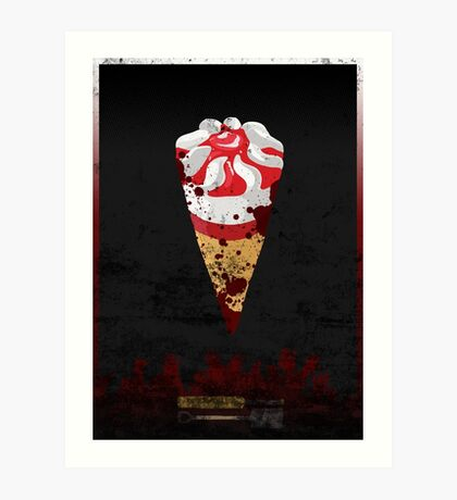 Cornetto Trilogy: Shaun of the Dead Art Print