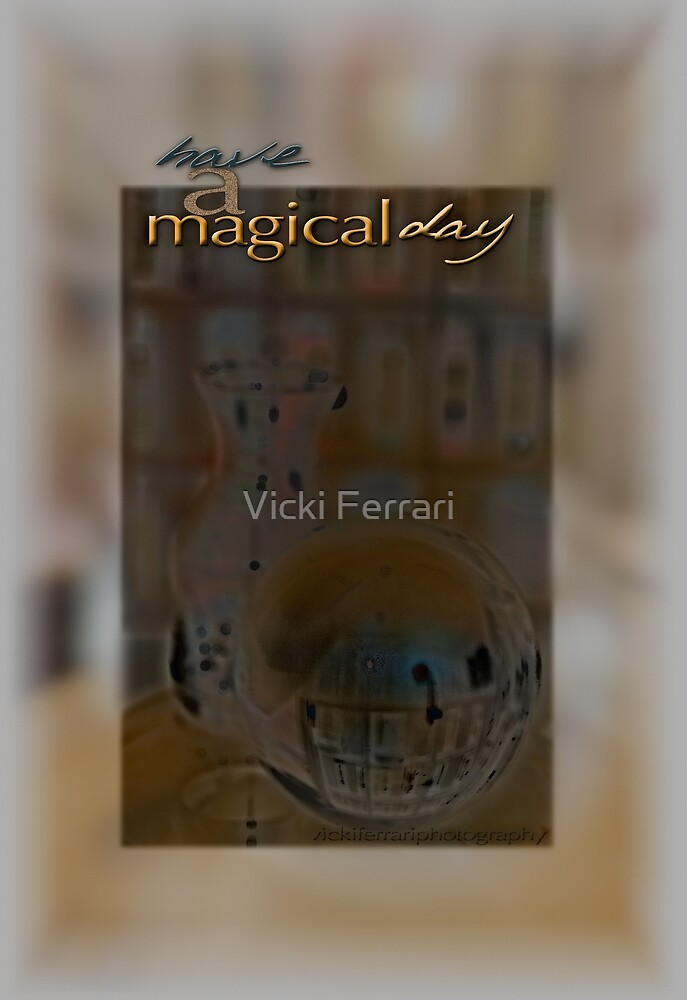 Magical Day Card 03 © VFPCards by Vicki Ferrari