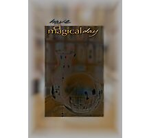 Magical Day Card 03 © VFPCards Photographic Print