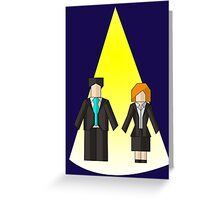 The Origami Files Greeting Card