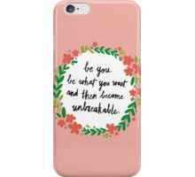 Unbreakable iPhone Case/Skin