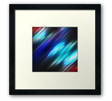 Warp Ahead Framed Print
