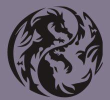 Dragon yin yang. Kids Tee