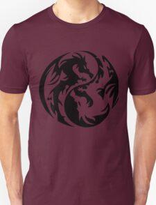 Dragon yin yang. Unisex T-Shirt