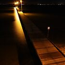 swan river at night, perth by dmaxwell
