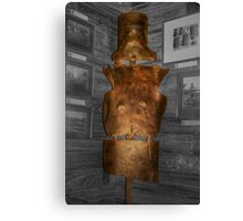 Ned's Armour Canvas Print
