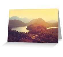 Austrian Landscape Greeting Card