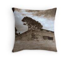 Morialta Barns -The Gap Throw Pillow