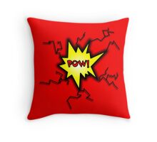 POW Caption Cushion Cover Throw Pillow