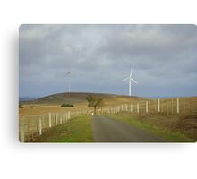 Farming the wind Canvas Print