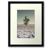 Lake Manitoba, Canada Framed Print