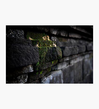 Stonework at Borobudur Photographic Print