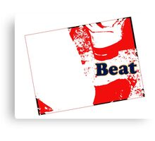 Red Beat Canvas Print