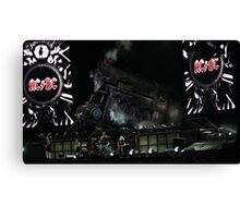 ACDC on stage Canvas Print