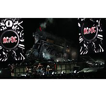 ACDC on stage Photographic Print