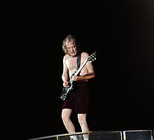 Angus Young by Carol Field