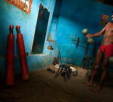 Pankash. Varanasi by Claude  Renault