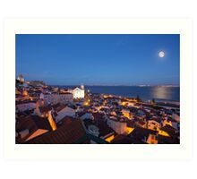 Magical Lisbon Art Print