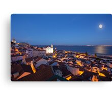 Magical Lisbon Canvas Print