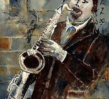 SAX PLAYER by calimero