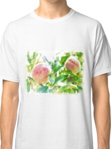 Sunny Day Peaches Classic T-Shirt