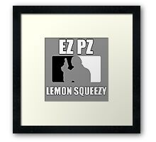 EZ PZ Framed Print