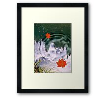The Power Of Attraction Framed Print