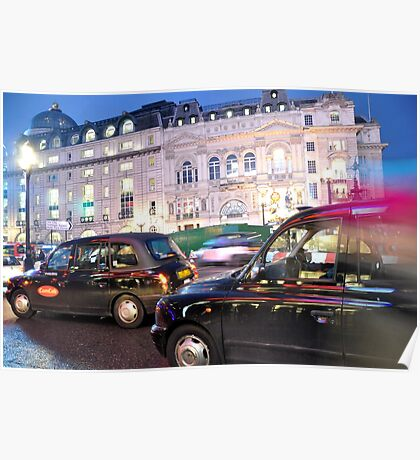 Black Cabs Poster