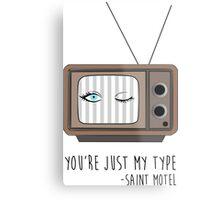 Saint Motel - My Type Metal Print