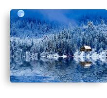 I Loved You In Winter! Canvas Print