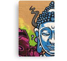 Buddha's Wall Canvas Print