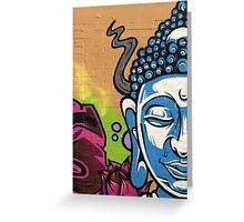 Buddha's Wall Greeting Card
