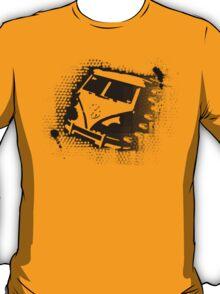 Splitty Stencil T-Shirt