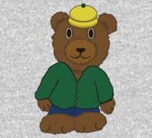 Bear in Yellow Hat Baby Tee